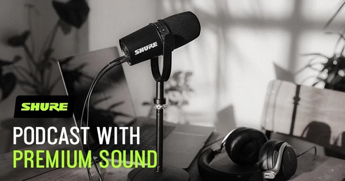 Partnerschaft: Shure hebt PodRiders auf ein neues Audio-Level